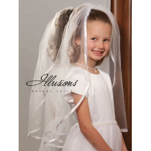 Illusions Bridal Flower Girl and First Communion Veils M-251-3R