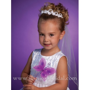 Illusions Bridal Flower Girl and First Communion Accessories 3188