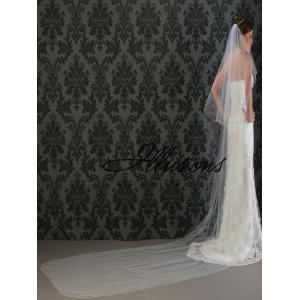 Illusions Bridal Corded Edge Veil C5-1442-C