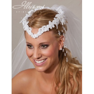 Illusions Bridal Hair Accessories 2328