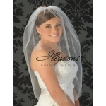Illusions Bridal Cut Edge Veil Blusher