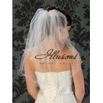 Illusions Bridal Filament Edge Veil S5-252-F