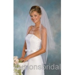 Illusions Bridal Colored Veils and Edges S5-362-C-LV