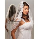 Illusions Bridal Lace Edge Veil 7-301-1L