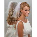 Illusions Bridal Pearl Edge Veil S5-152-P