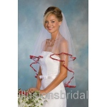 Illusions Bridal Colored Veils and Edges C7-302-3R-GT