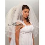 Illusions Bridal Ribbon Edge Veil S1-302-SR