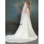 Illusions Bridal Ribbon Edge Veil CH-721-3R