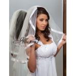 Illusions Bridal Ribbon Edge Veil C1-251-7R