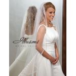 Illusions Bridal Ribbon Edge Veil 7-451-SR