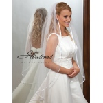 Illusions Bridal Ribbon Edge Veil 7-451-3R