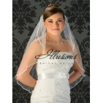 Illusions Bridal Ribbon Edge Veil 7-301-1R