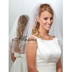 Illusions Bridal Ribbon Edge Veil 7-251-1R-P