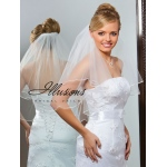 Illusions Bridal Soutache Edge Veil C7-252-ST