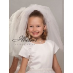 Illusions Bridal Flower Girl and First Communion Veils MS-20D-CT