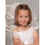 Illusions Bridal Flower Girl and First Communion Veils MC-152-3R