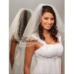 Illusions Bridal Pearl Edge Veil 1-201-P