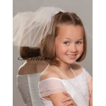 Illusions Bridal Flower Girl and First Communion Veils M-101-CT