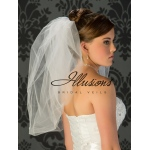 Illusions Bridal Bubble Cut Veil B7-25
