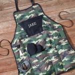JDS Deluxe Camouflage Grilling Apron Set