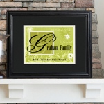 JDS Personalized Family Name Sign