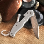 JDS Wholesale Personalized Klondike Lockback Knife with Flashlight
