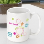 JDS Personalized Groovy Coffee Mug