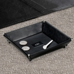 JDS Personalized Stash Tray: Leather