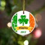 JDS Personalized Irish Ornaments