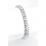 Mariell Wholesale Bridal Tennis Bracelet in Marquis CZ