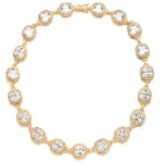 Mariell Best Selling Wedding Or Pageant Necklace with Cushion Cut CZ