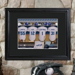 JDS Personalized Print with Matted Frame: MLB Clubhouse