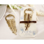 Gilded Gold, Feather Bottle Opener