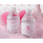 Personalized Water Bottle Labels: Tutu Cute