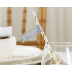 Personalized Religious Party Straw Flags