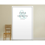 Personalized Simply Elegant Photo Backdrop