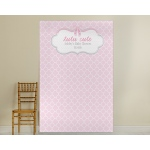 Personalized Photo Backdrop: Tutu Cute