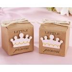 Little Princess Kraft Favor Box: Set of 24