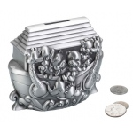 Lillian Rose Noah's Ark Pewter Bank