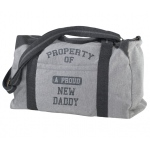 Lillian Rose Property of Daddy-Diaper Bag