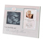 Lillian Rose Wonderfully Made Ultrasound Frame: Pink