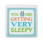 Lillian Rose Blue Owl Sleepy Sign
