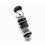 Lillian Rose Assorted Beads: Black, Set of 7