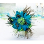 Lillian Rose Peacock Bouquet