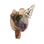 Lillian Rose Camouflage Boutonniere