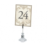 Lillian Rose Gold Table Numbers 1-24