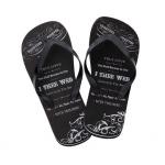 Lillian Rose Men's True Love Flip Flops - Large (12)