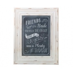 Lillian Rose Frame Seating Sign - Black