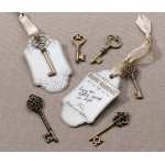 Lillian Rose Set of 24 Bronze Key Tags