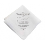 Lillian Rose Men's Thank You Hankie